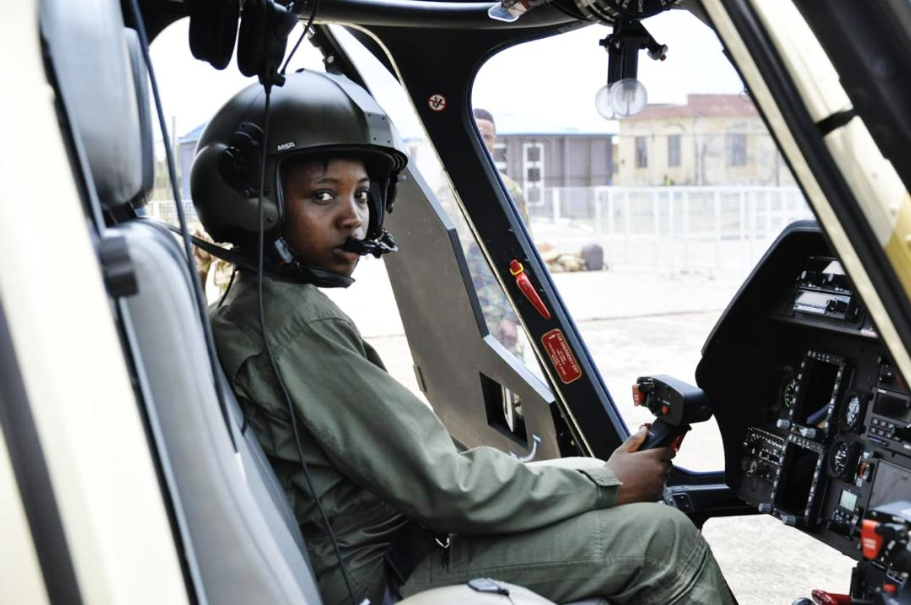 NAF Loses 1st Combat Female Flying Officer Tolulope Arotile