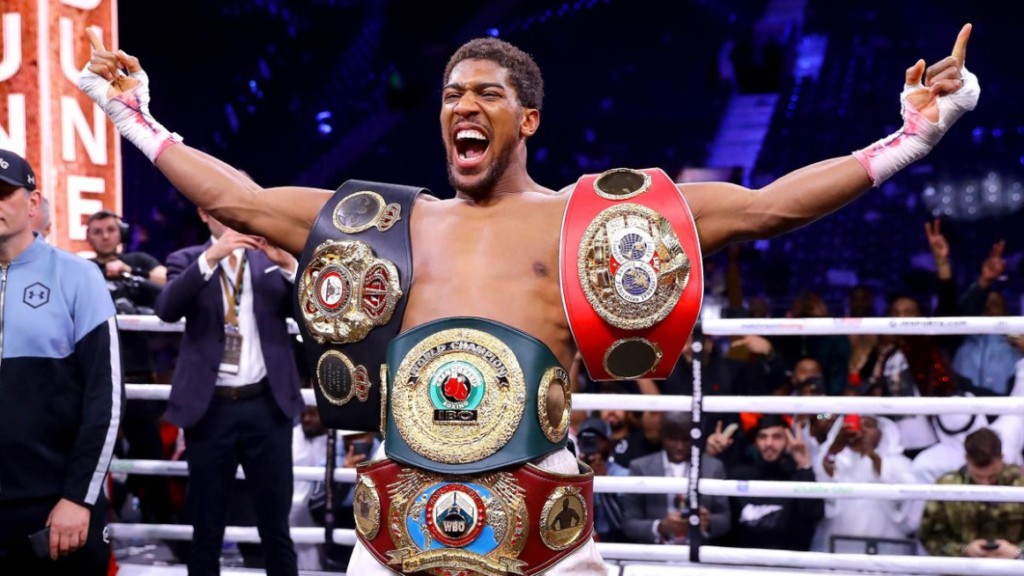 World heavyweight champion, Anthony Joshua and Tyson Fury heavyweight title bout sealed