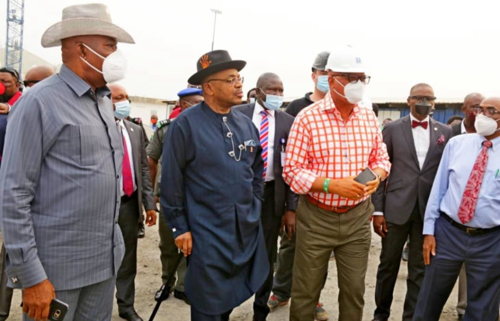 Akwa Ibom state Governor Udom Emmanuel announces date for completion of International Christian Worship Centre Project