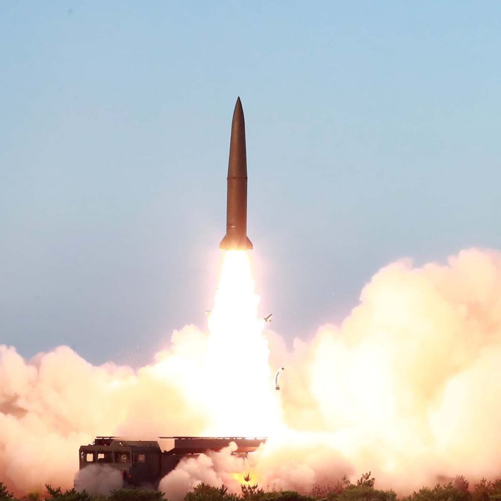 North Korea launches ballistic missiles into Japan