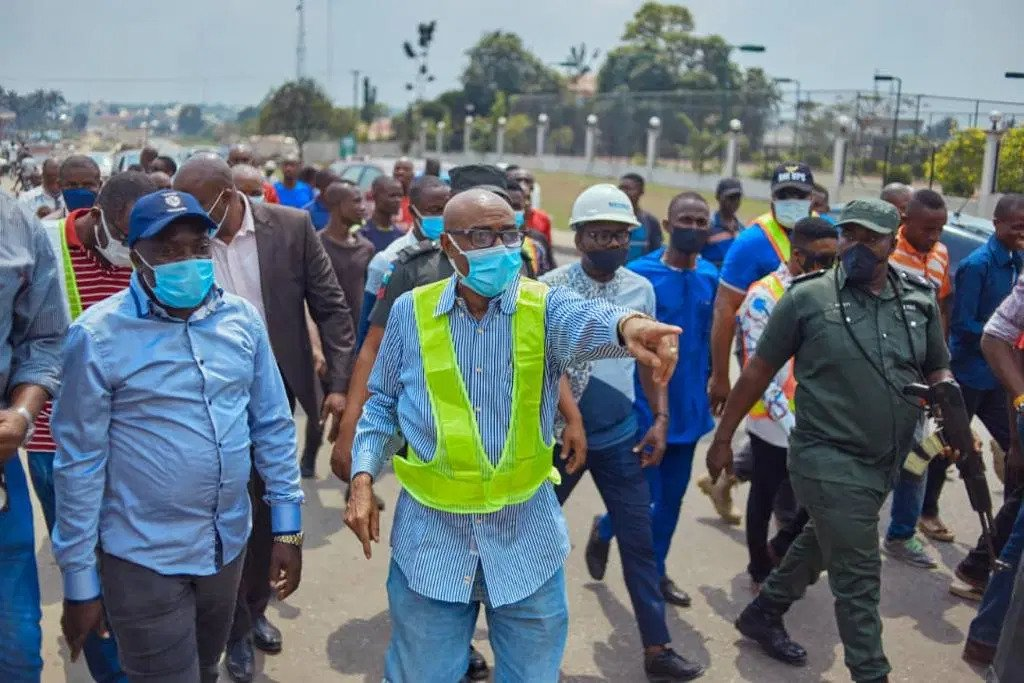 Akwa Ibom state commissioner for Works and Fire Service, Professor Eno Ibanga charges contractors to sustain standard and quality of roads assigned to them