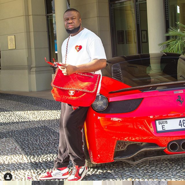 Dubai Police Arrest Nigerian Instagram Celebrity, Ramon Olorunwa Abass (HushPuppi)for defrauding almost 2million Victims