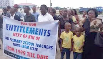 Forum of retired primary school teachers in Akwa Ibom State appeal to State Government to commence payment of overdue entitlements
