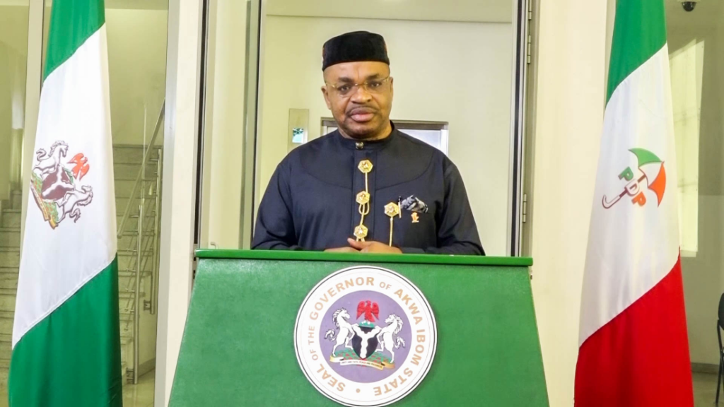 Governor Udom Emmanuel renews commitment to his completion agenda as Akwa Ibom marks 33rd anniversary today