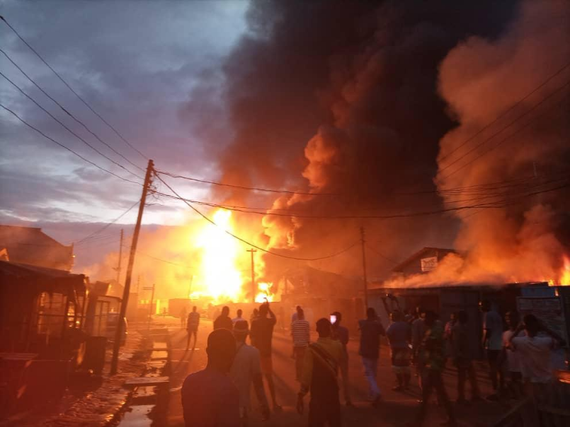 Eight people killed in Lagos gas plant explosion