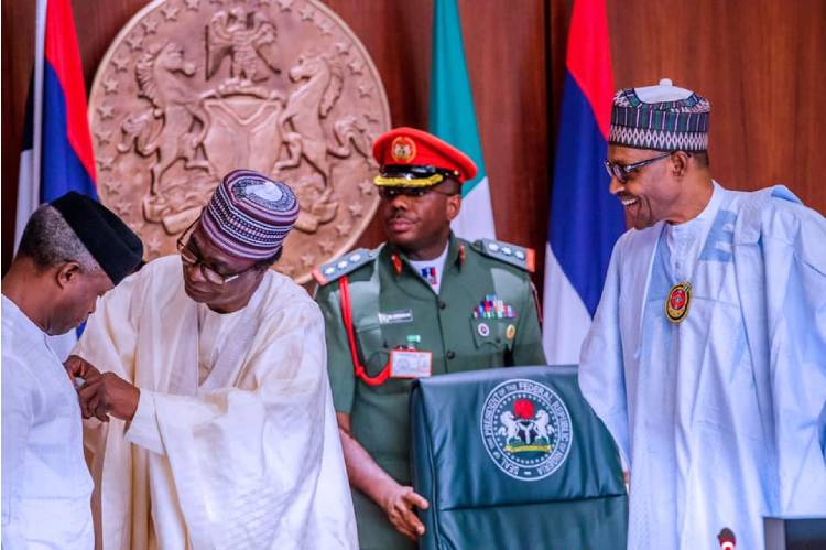 President Muhammadu Buhari launches 2021 armed forces remembrance emblem and appeal fund