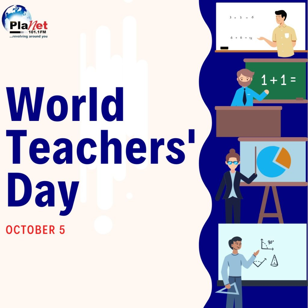 Residents acknowledge roles of teachers in nation-building as 2020 World Teachers Day is marked today