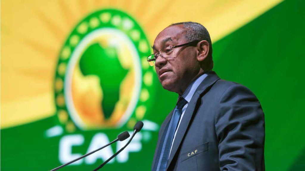 CAF president to appeal FIFA ban.