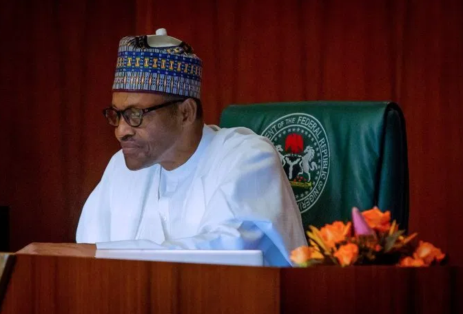 President Muhammadu Buhari reiterates commitment to development of women in Nigeria.