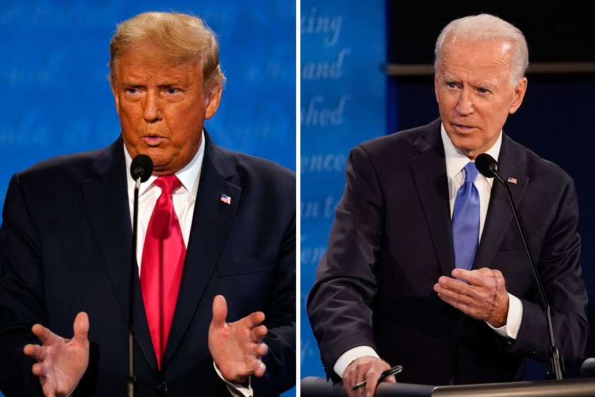 U.S President Donald Trump and democratic challenger Joe Biden travel across nation as US election race enters final hours