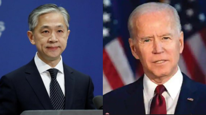 China congratulates Joe Biden on victory