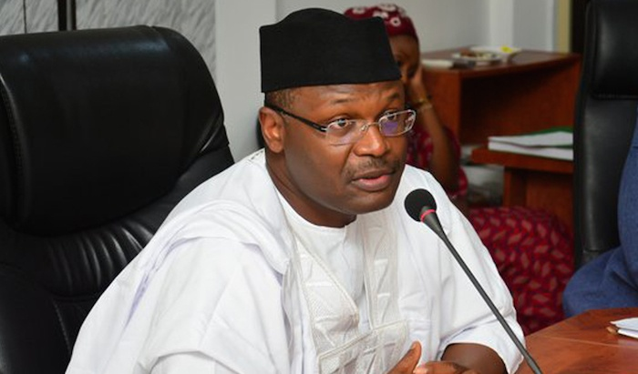 Immediate past INEC Chairman, Mahmood Yakubu receives commendation for stepping aside pending Senate's confirmation of his re-appointment