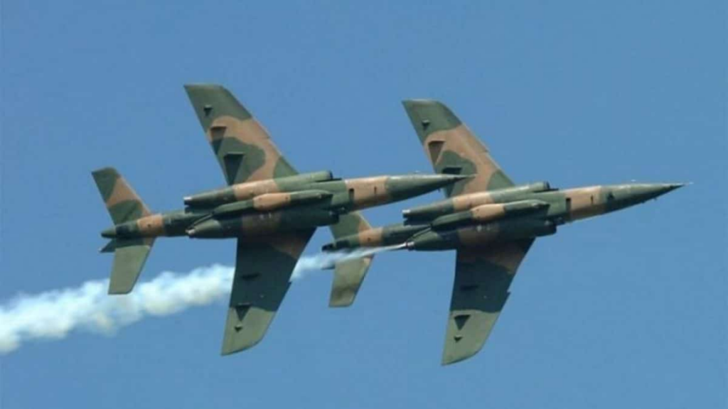 Military airstrikes destroy terrorists hideout, with scores of insurgents neutralised in Sambisa forest