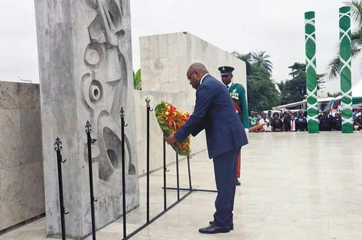 Akwa Ibom State governor, Udom Emmanuel celebrates 2021 Armed Forces Remembrance Day as he reiterates commitment to welfare of the Nigerian Legionnaires