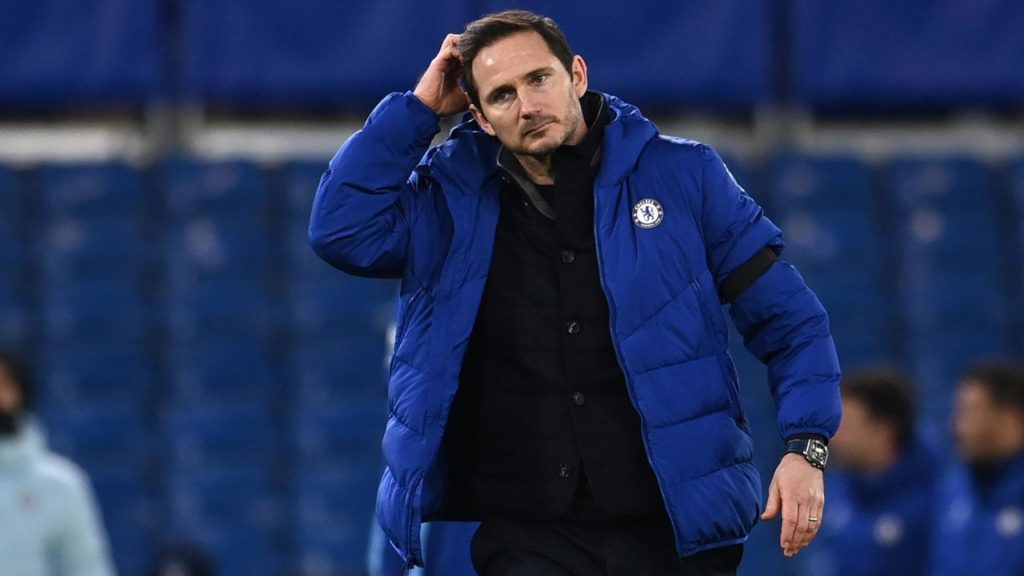 Chelsea Sack Coach Frank Lampard
