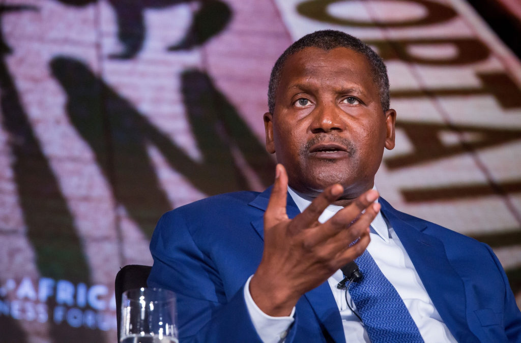 Aliko million in just 24 hours Dangote reportedly losses $900