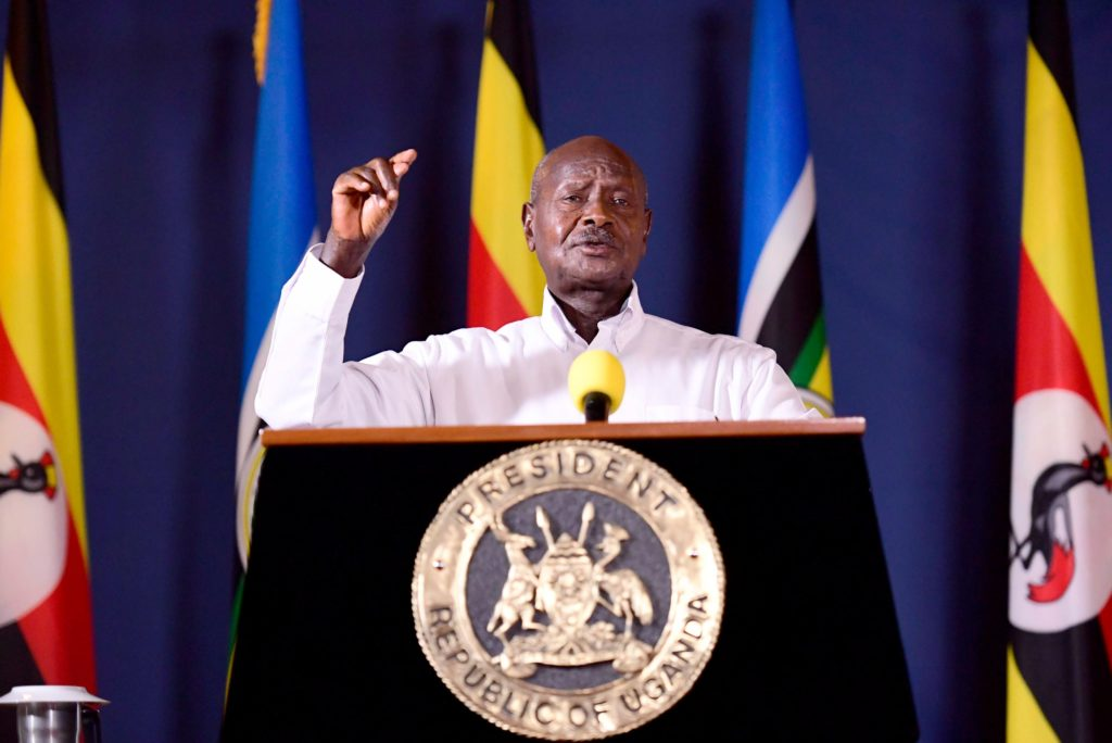 Uganda bars access to social media ahead of polls