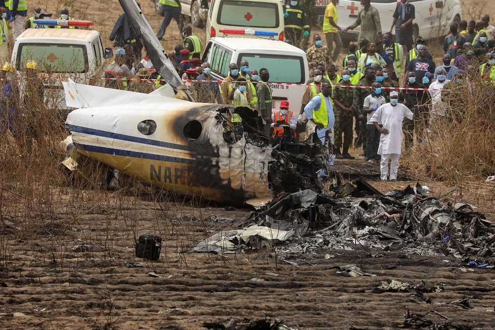 Air Force Releases Names of Officers Who Died In yesterday's Abuja plane Crash