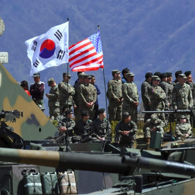 South Korea and United States kick off annual joint military exercises