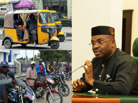 Government bans motor cycles and tricycles in Ikot Ekpene
