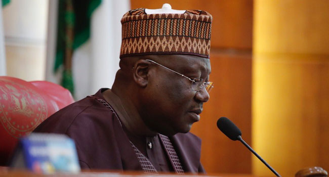Senate president urges Nigerians to support federal government in Easter message
