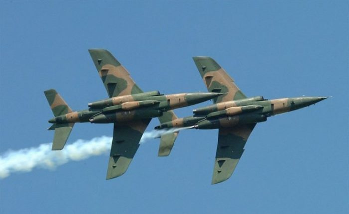 Nigerian Air Force Alpha Jet loses radar contact in Borno State