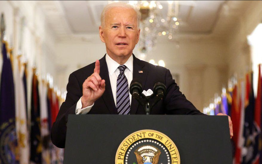 US President Joe Biden pitches once in a generation investment to Congress